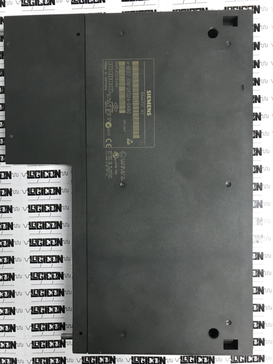 SIMATIC S7-400,6ES7414-2XG04-0AB0 – LOGICON ENGINEERING Co ,Ltd